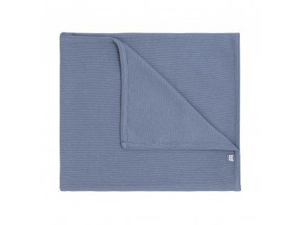 Baby´s only luxusná deka do kočíka Pure modrá