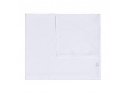 Baby´s only kvalitná bavlnená detská deka Pure biela