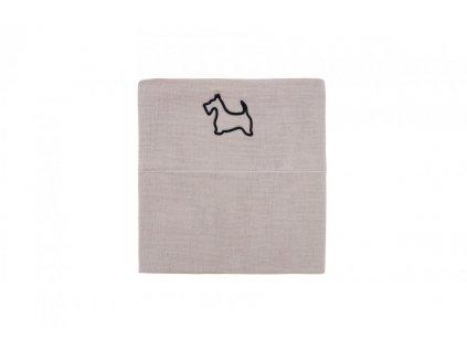 Caramella Doggy plienka na zavinovanie béžová
