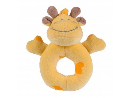Nanán detská plyšová hrkálka žirafa Trilli