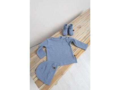 Baby´s only detská čiapka Pure modrá