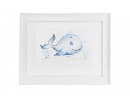 Veľryba obrázok do detskej izby