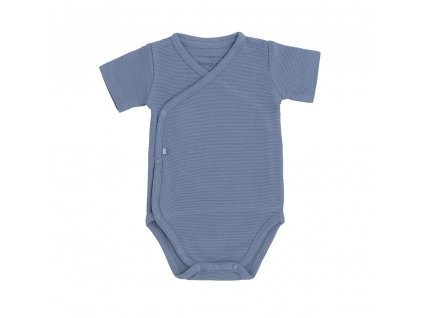 Baby´s only detské body 56 Pure modré