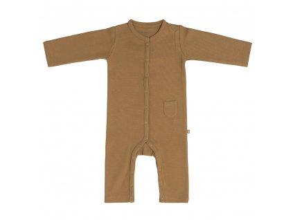 Baby´s only detské pyžamo 56 Pure karamelové