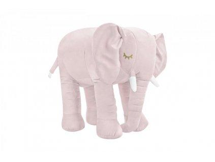 Ružový slon dekorácia do detskej izby