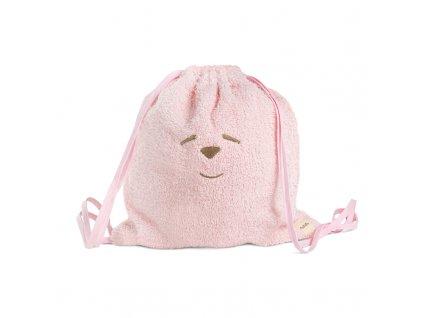 Nanán taška a uterák do škôlky ružový