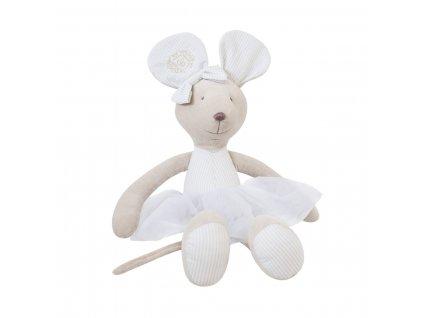 Caramella Golden Sand plyšová hračka myška