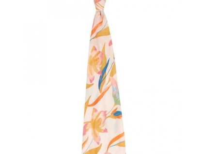 14117 aden anais detsk bambusov plienka 120x120cm pretty petals