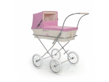 19619 bebelux detsky kocik paris pink 78 88cm