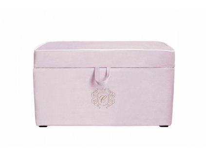 21518 caramella caluneny ulozny box na hracky golden chic 80x45cm ruzovy