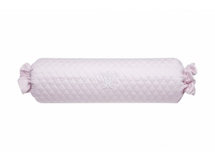 21563 caramella dekoracny podhlavnik s vysivkou 50x13cm ruzovy