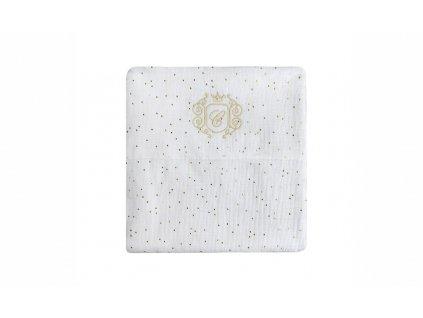 24383 caramella golden sand bavlnena plienka pre babatko biela