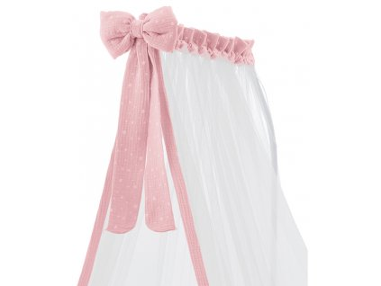 23126 ital baby baldachyn muslin pink