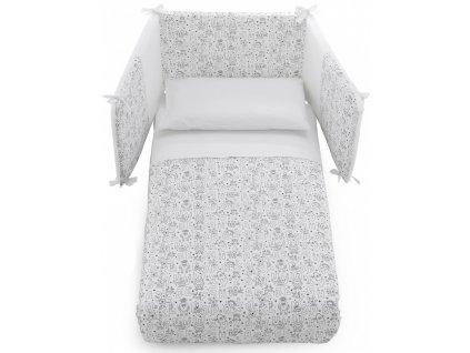 Italbaby ochranný mantinel s posteľnou bielizňou