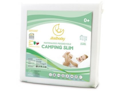 Italbaby detský cestovný matrac Camping Soft 60x120cm