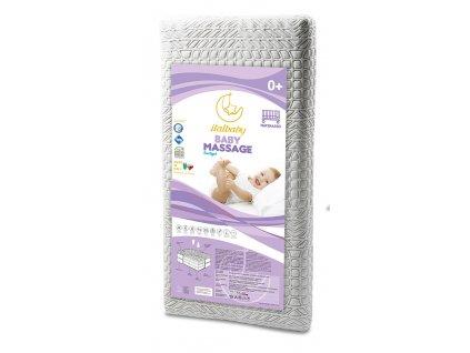 Italbaby detský matrac Baby Massage 70x140cm