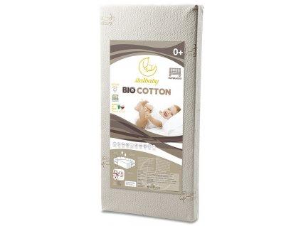Italbaby detský matrac Bio bavlna 60x120cm
