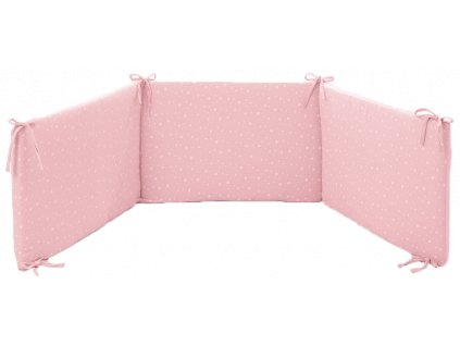 Italbaby mantinel s posteľnou bielizňou Muslin ružový