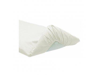 Italbaby bavlnená plachta na matrac Calibrato 63x125cm biela