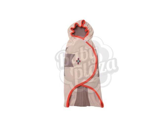 Zavinovačka a podložka na hraní LODGER Wrapper Clever - Native Tangerine