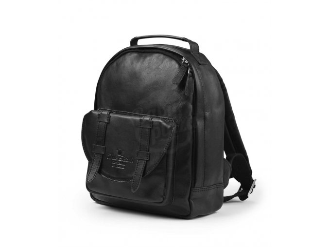 Batůžek BackPack MINI™ ELODIE DETAILS 2018 – Black Leather