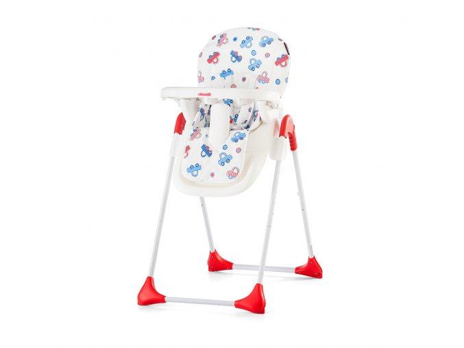 CHIPOLINO Dětská jídelní židlička Mickey - Cars