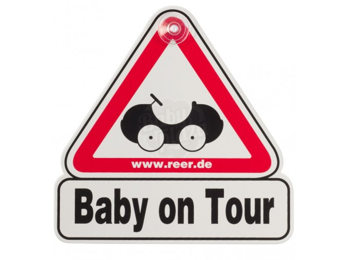 """Značka """"Baby on Tour"""" Reer 2021"""
