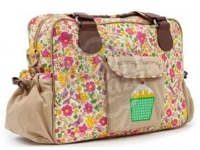 Přebalovací taška Pink Lining YUMMY MUMMY 2019 Rozkvetlá zahrada
