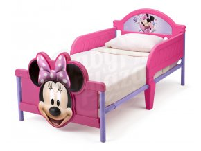delta kva ten bb86682mn minnie 3d footboard toddler bed left