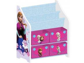 Organizér na hračky Ledové království-Frozen 3D