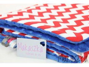 Zateplená dětská deka Cik-cak