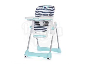 CHIPOLINO Dětská jídelní židlička Bravo - Marine boat