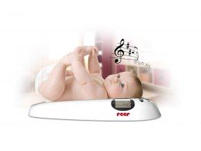 Dětská digitální váha s melodií REER 2021