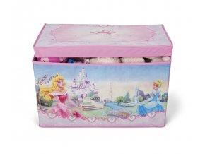 delta kva ten tb84667ps princess fabric toy box front props