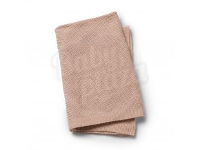 103741 Moss Knitted Blanket Powder Pink 1000px