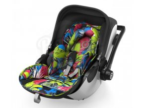 Autosedačka Kiddy Evoluna 2 i-Size + Isofix Base 2019 - Kolekce Street  Jungle + ce9f4213b2