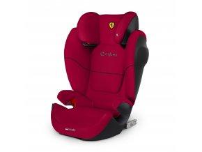 Dětská autosedačka cybex Solution M Fix sl Ferrari 2019 Racing Red