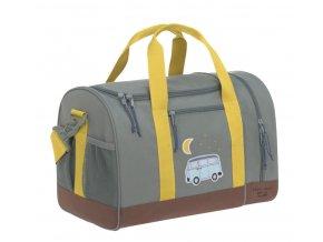 Dětská sportovní taška Lässig Mini Sportsbag 2021 Adventure bus