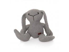 Pletená hračka Zajíc Zopa 2020 Grey