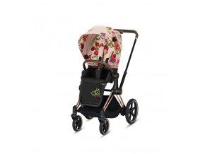 CYB 19 y045 EU e Priam Fashion SeatPack SpringBlossom SBLight OnFrame ROGO left