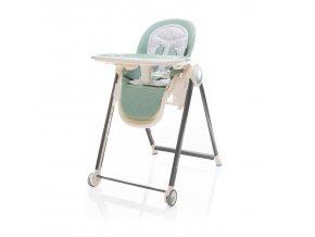 Dětská jídelní židlička Zopa Space 2020 Misty Green