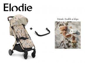 Kočárek Elodie MONDO včetně madla + dárek