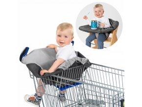 Hygienický potah pro nákupní vozík a židle REER 2021