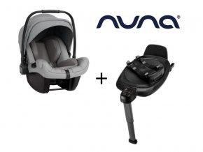 Autosedačka Nuna PIPA NEXT + otočná základna Base Next 2021