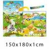 Dětský pěnový koberec - Farma + Pohádkový svět 150x180x1 cm