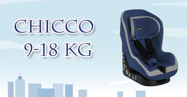 Chicco autosedačka 9-18 kg Go One Blue