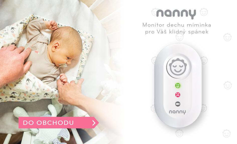 Nanny monitor dechu v novém