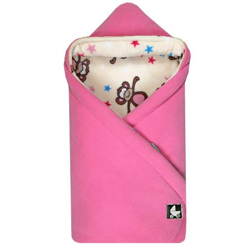Zavinovačky 85x85 cm zimní s kapucí Fleece