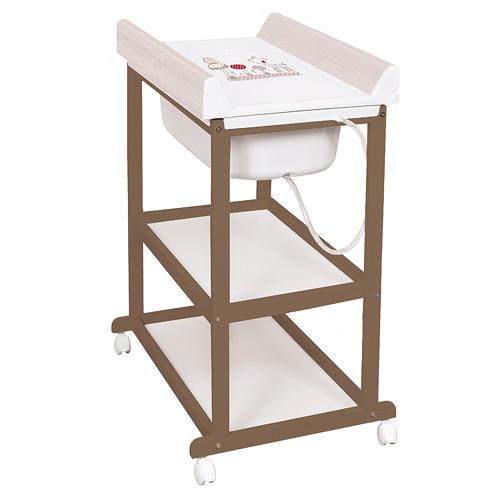 Přebalovací pulty, komody a stoly
