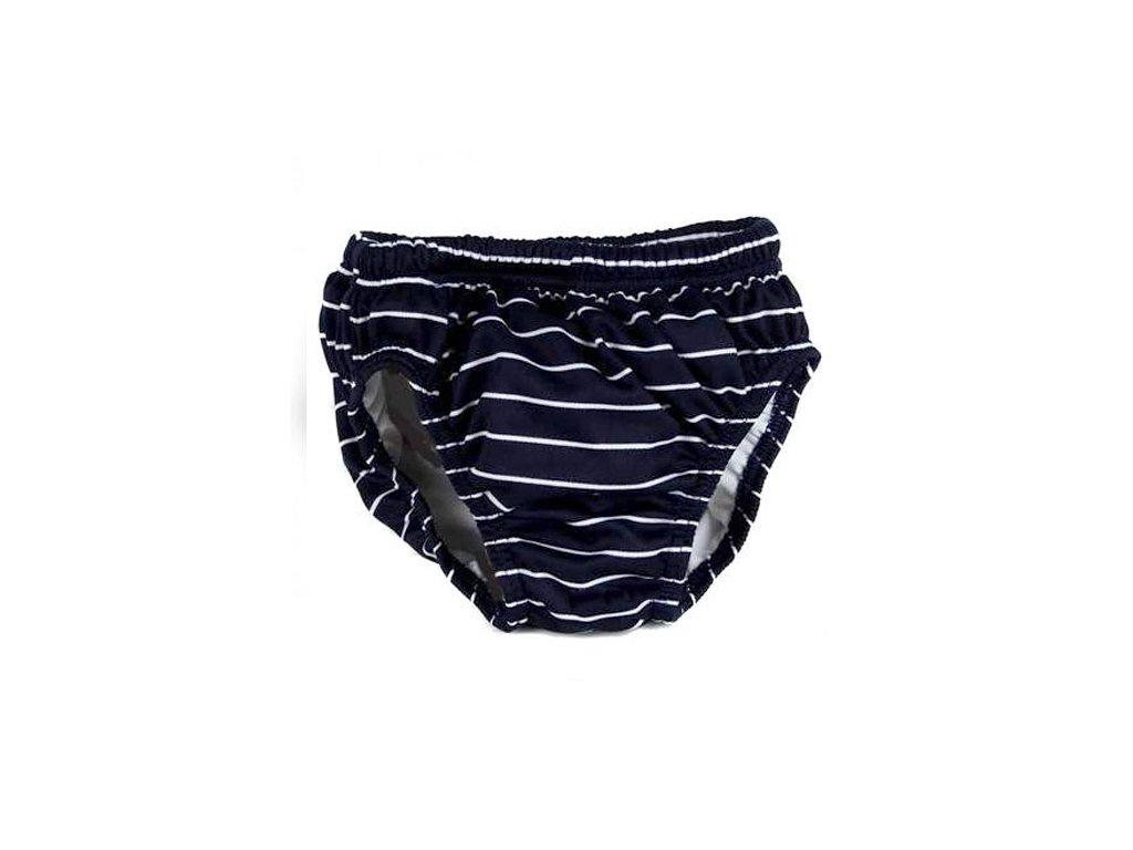 Fashy kojenecké plavky 74-80 modré s proužky 155202